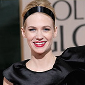 January Jones had beautiful hair courtesy Mark Townsend