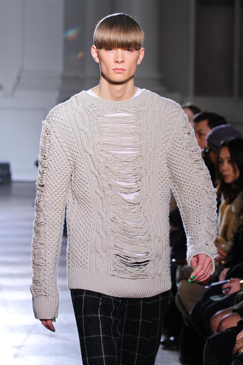 Paris Menswear Fashion Week Fall/Winter 2012