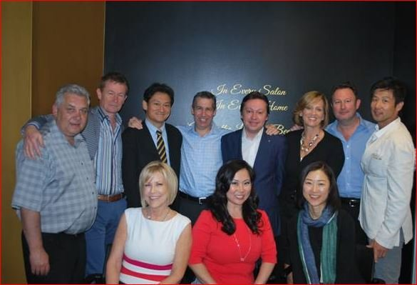 Joico Welcomes Parent and Int'l Partners to Celebrate Success