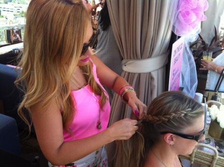 On the Go Beauty with Joico: Beverly Hills Pampering Event