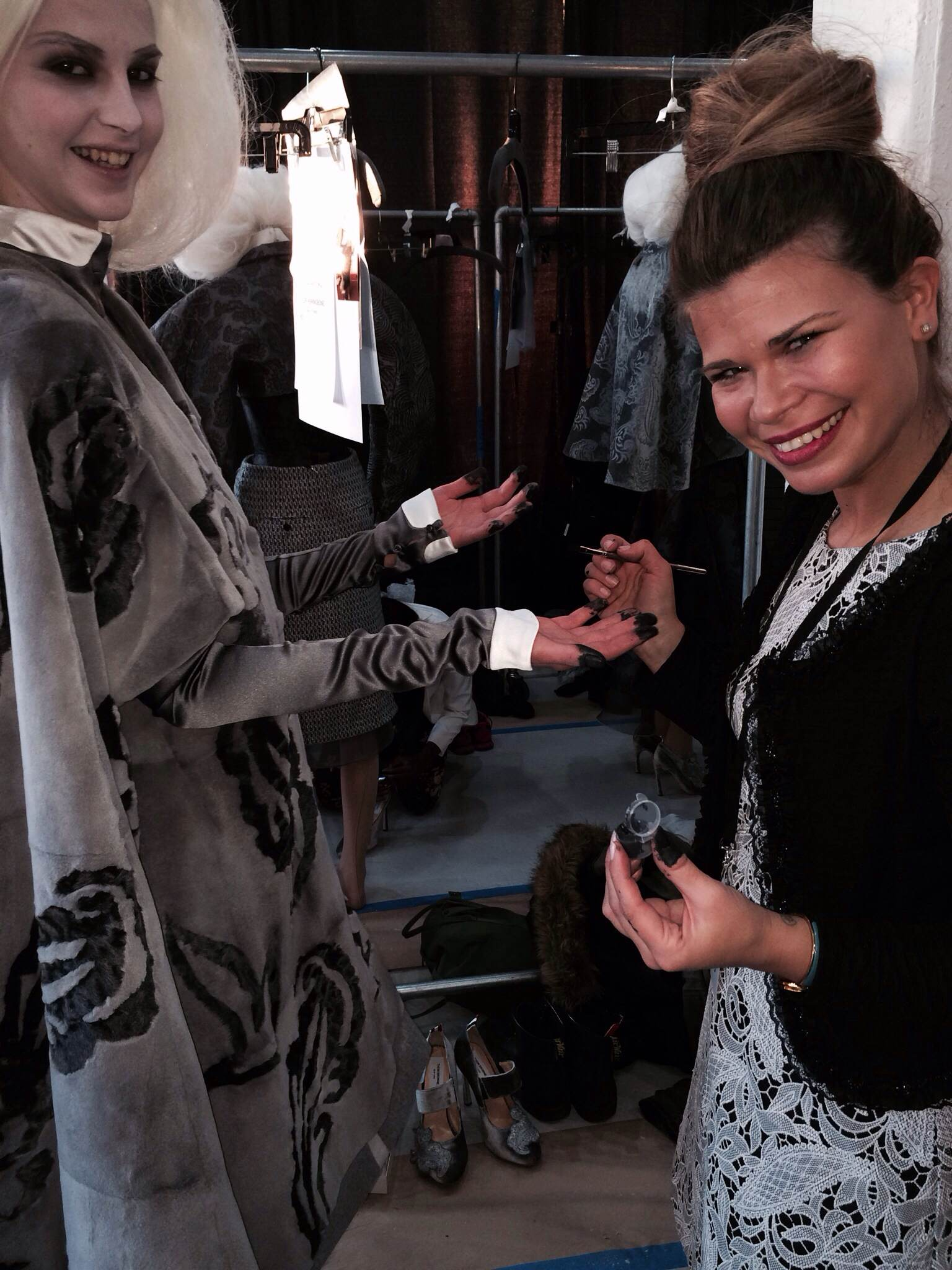 NAIL NEWS: What It's Like Backstage During New York Fashion Week