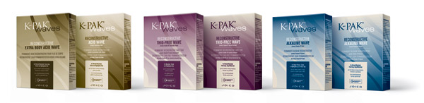 Joico creates K-Pak Waves for frizz-free curls