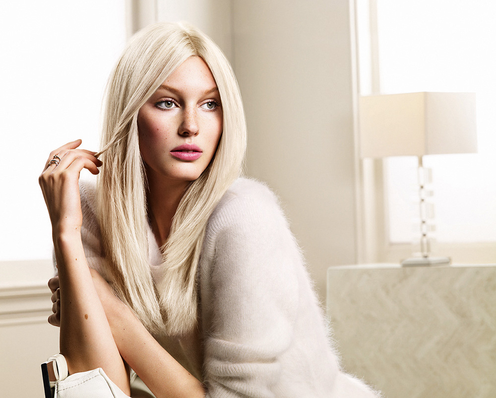 How To Platinum Blonde With A Slight Tint Of Blue By Keune Career