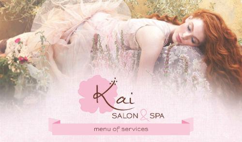 2013 STAMP Service Menu Winner: Kai Salon & Spa