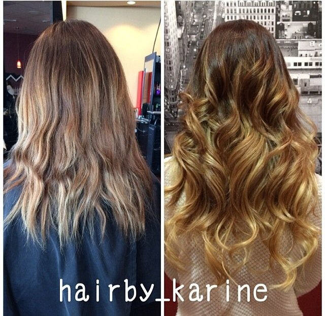 "ON INSTAGRAM: Lovely ""Before & After"" with Extensions, Balayage"