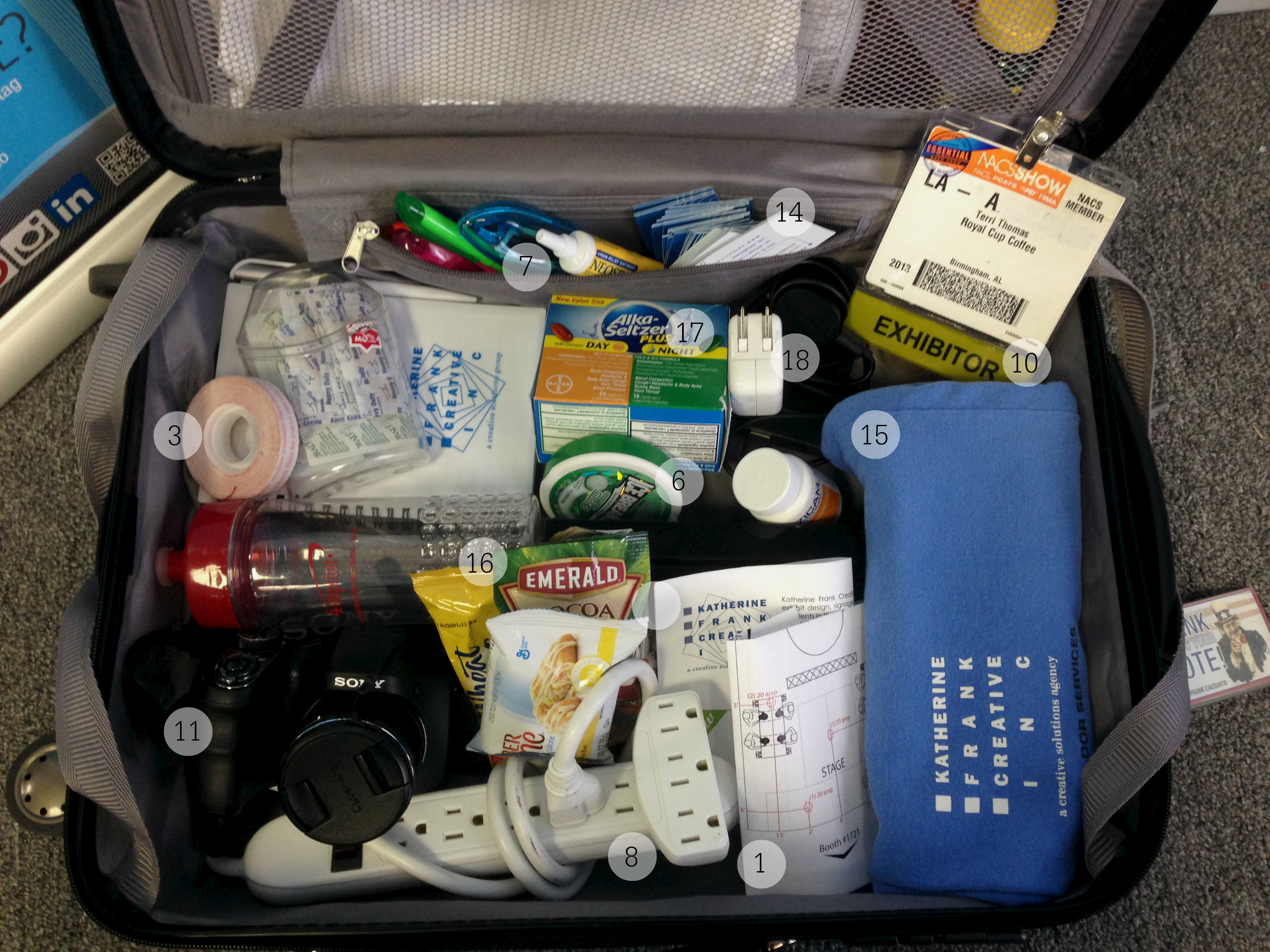 20 Essential Exhibit and Trade Show Packing List Items