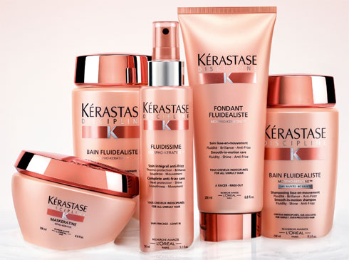 Kerastase's New Discipline Regimen Offers In-Salon Feel at Home