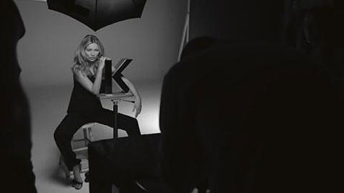 Kate Moss, New Muse for Kerastase