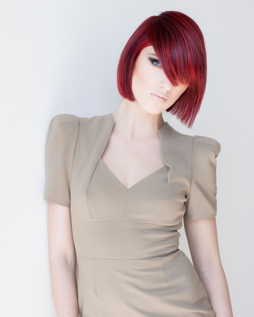 HOW-TO: Dimensional Deep Crimson Hue by Keratin Complex