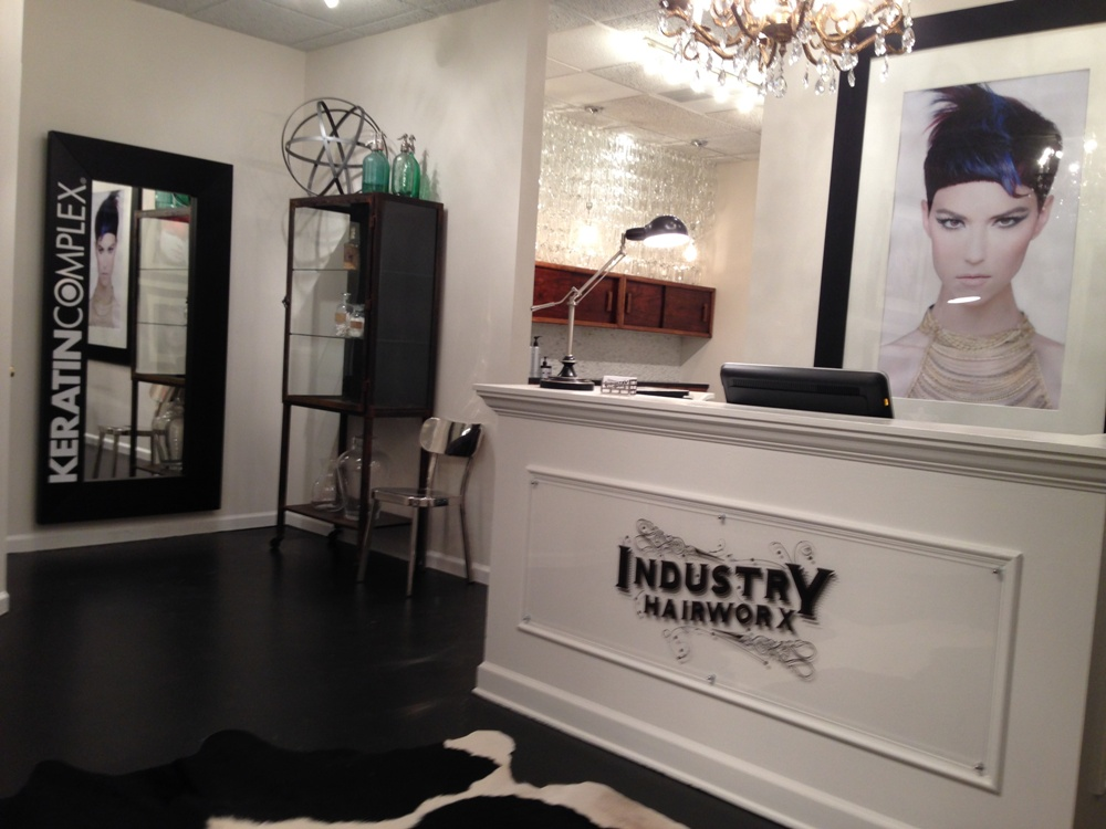 KERATIN COMPLEX: New Salon, New Space, New Look on Shelf