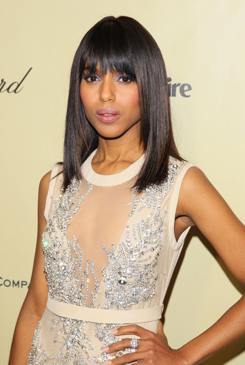 Kerry Washington's Hair at the 2013 Golden Globes