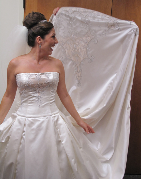 And the Bridal Challenge '09 Winner is...