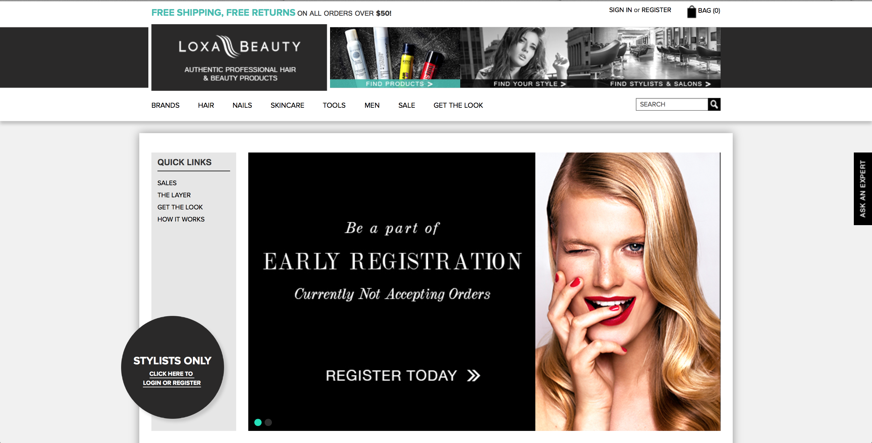 BSG Previews Loxa Beauty E-Commerce Site