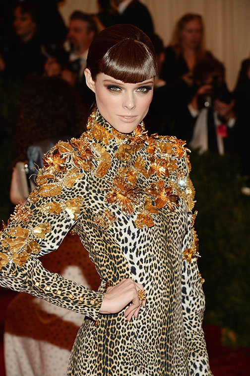 HOW TO: Veronica Chu Creates Dramatic Shape For Coco Rocha