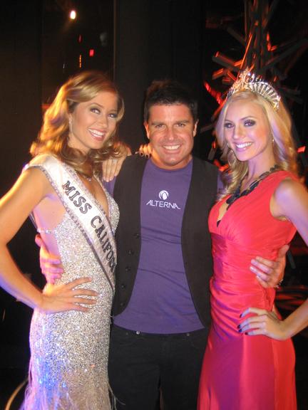 Michael Shaun Corby at Miss California