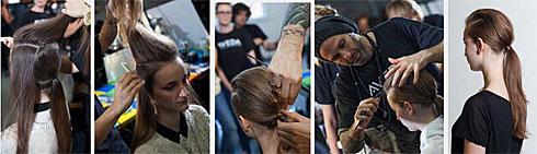 HOW-TO: Jon Reyman for Aveda at Marimekko '13 NYFW