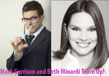 Breaking News! NYC's Beth Minardi and Mark Garrison Team Up!