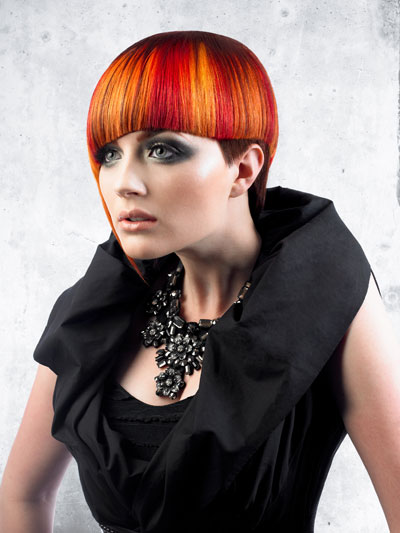 How To: Create BOLD Orange, Blue and Red Color Formulas