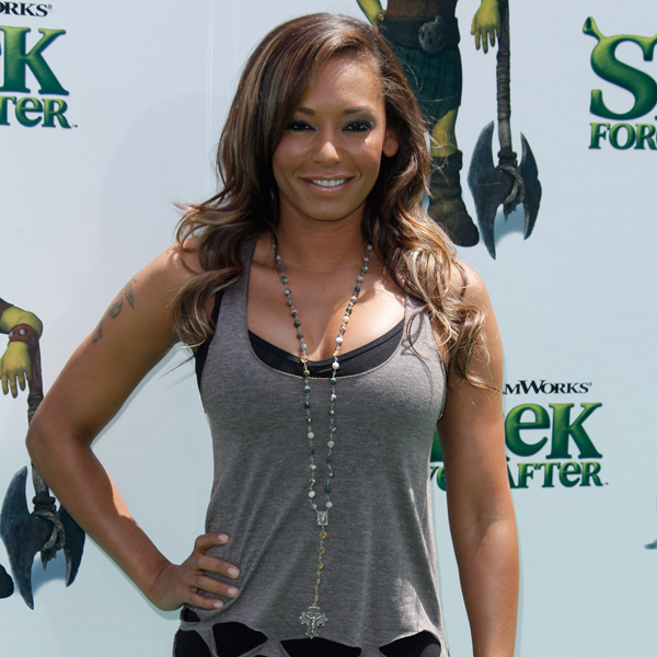 How to Get Mel B's Beachy Waves