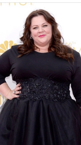EMMYS 2014: Melissa McCarthy's Voluminous Waves by Giannandrea