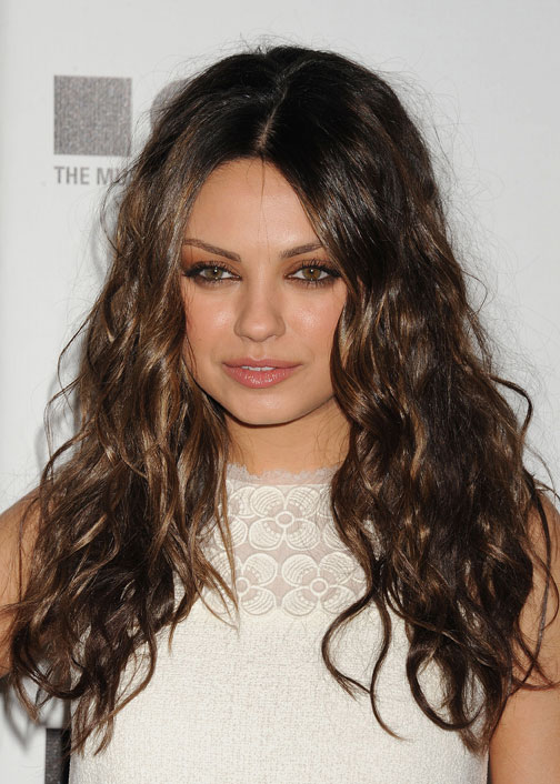 HOW-TO: Mila Kunis' Tight, Disheveled Waves