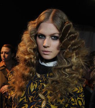 Lush Look from Milan Fashion Week