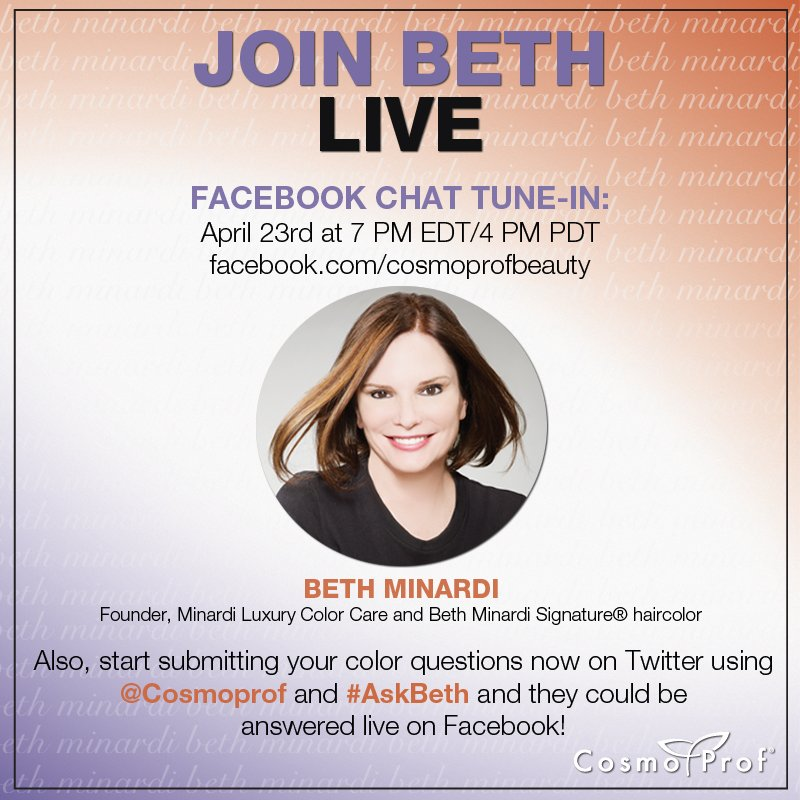 Talk Color with Beth Minardi: Facebook Chat, April 23