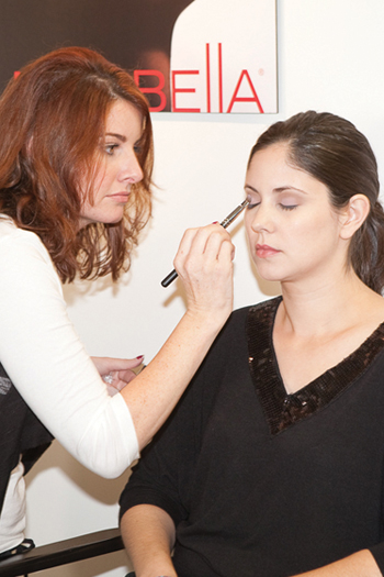 Mirabella gives advanced make-up tips to stylists