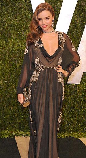 Oscars Beauty: Miranda Kerr
