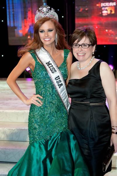OPI's Weiss-Fischmann Miss USA Judge