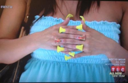 "Manicure-Makeover: Nails Are Featured on ""What Not To Wear"""