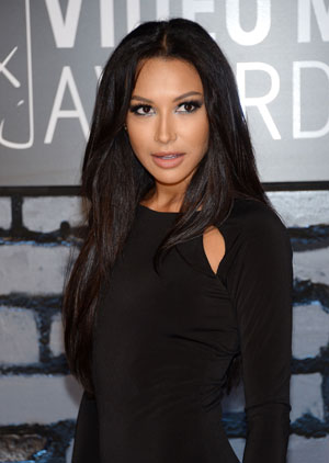 Naya Rivera Looks Svelte and Sexy at 2013 VMAs