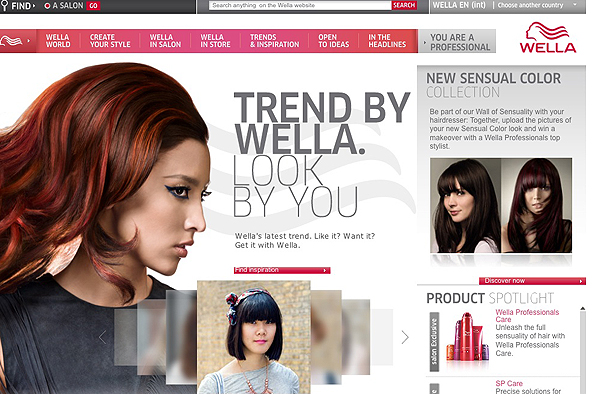Visit The Wella World