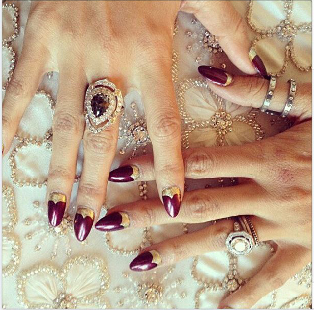 HOW TO: Nicole Ritchie's Punk Couture Manicure