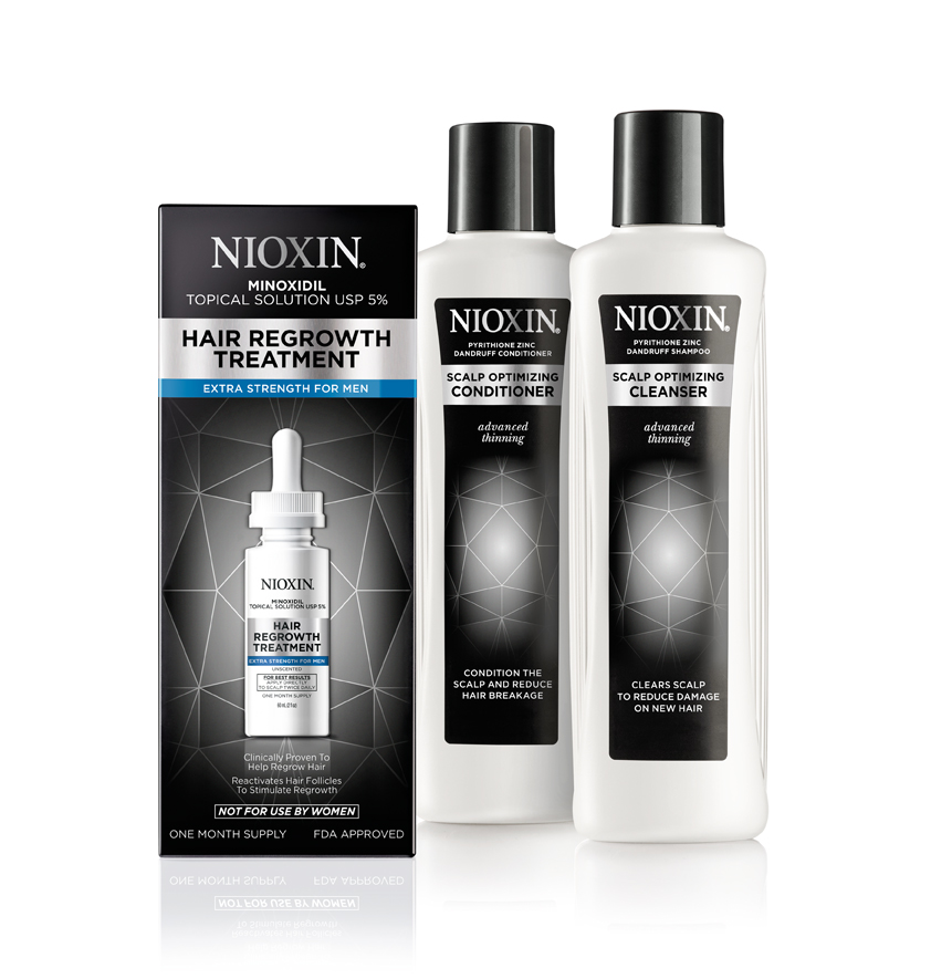 Advanced Thinning Line From Nioxin News Modern Salon