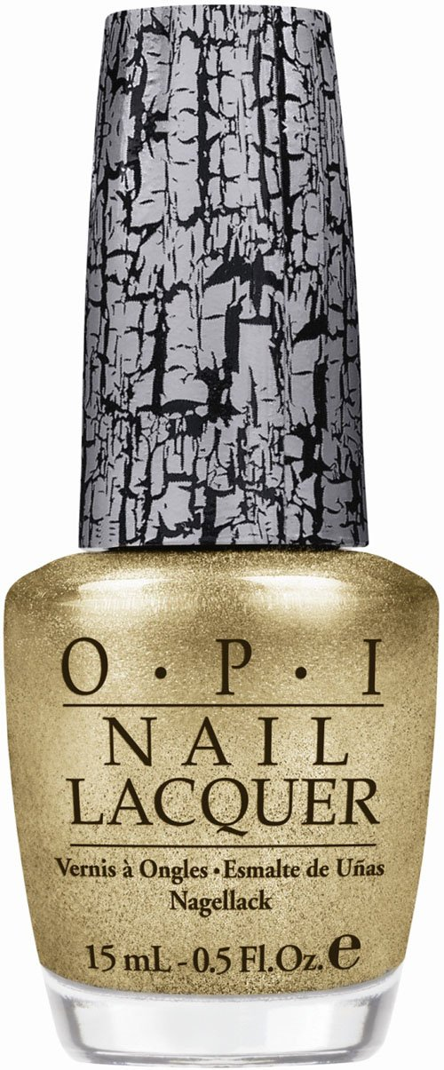 OPI Launches Shatter Coat in Gold