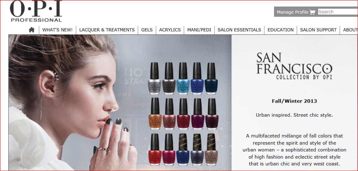 New OPI Pro Website for the Latest in Nail Technology, Education