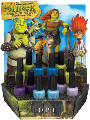 OPI launches Shrek-inspired nail polish collection