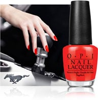 OPI's Newest Lacquer Line Inspired by Ford Mustang