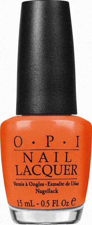 FASHION WEEK: A Pop of Orange at Lauren Moffat