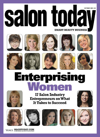 SALON TODAY's Enterprising Women of 2013