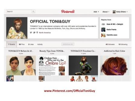 Using Pinterest for Your Salon