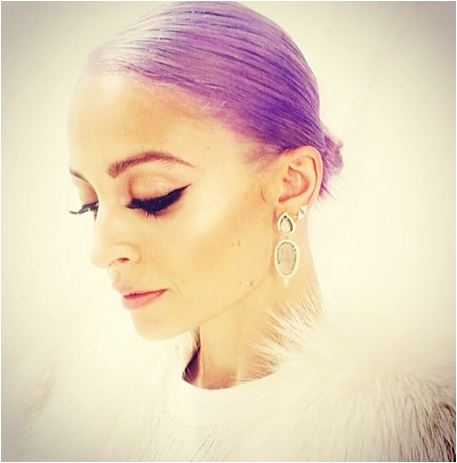 LAVENDER FORMULA: Nicole Richie's New Pastel by Danny Moon