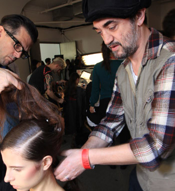FASHION WEEK: Creating the Look for Peter Som