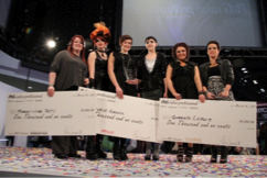 Winners from P&G's Student Stylist Competition at ABS!