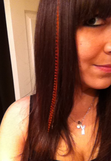 Feather Hair Extensions ROCK!
