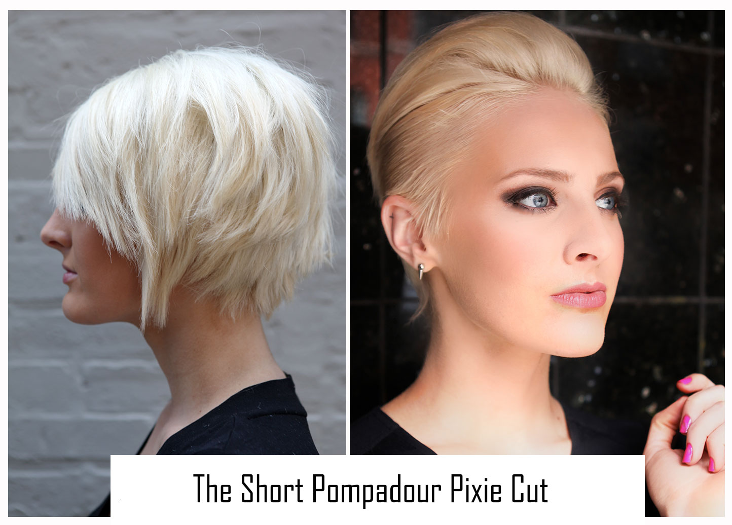 TRY IT: Pixie Cut Styling Idea - The Slick and Short Pompadour