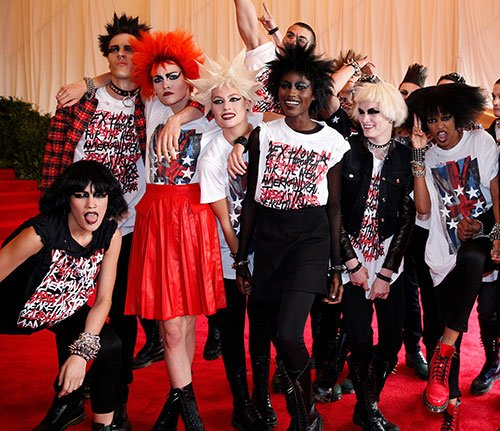 Punks, Courtesy Guido, Everywhere at Met Gala
