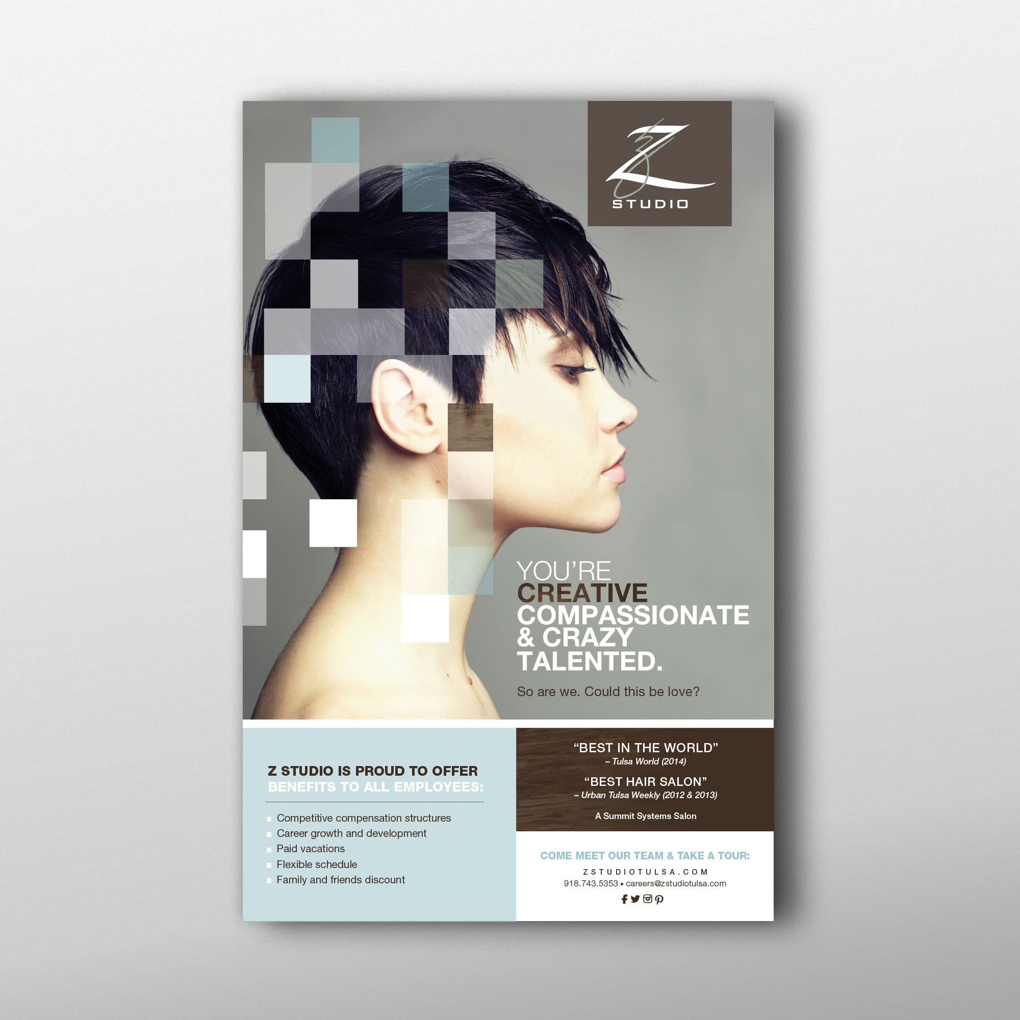 Time To Read A Full Brochure We Took Its Key Highlights And Had Them Made Into Large Format Posters Can Hang In Area Beauty Schools Barbee Says
