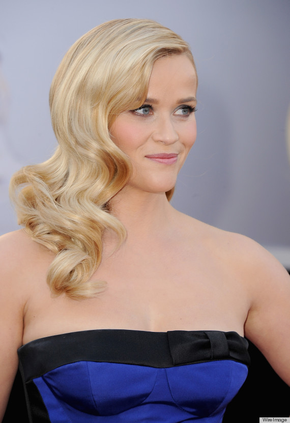 THE OSCARS: Reese Witherspoon's Cascading Side Waves
